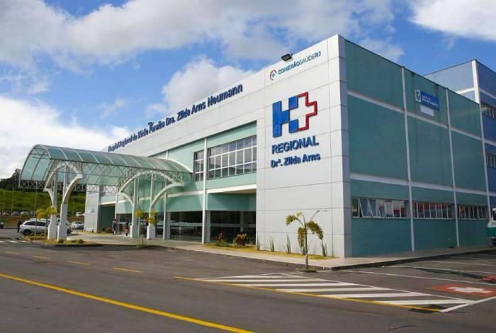 Taxas de ocupação no Zilda Arns, em Volta Redonda, são de 74% na enfermaria e 75% na UTI