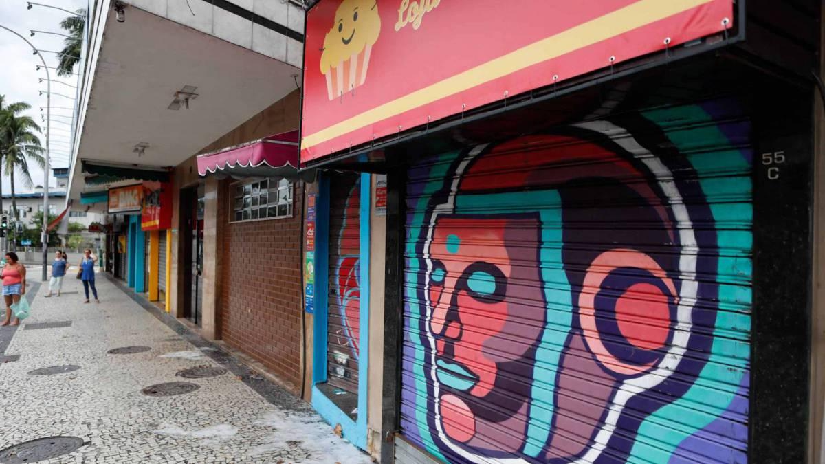 Boa parte do comércio do Rio está fechado desde terça-feira
