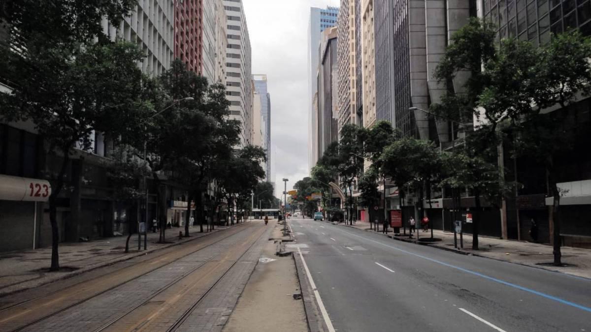 Comércio do Centro do Rio totalmente fechado