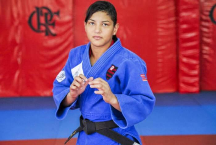 Campeã olímpica em 2012, Sarah Menezes veste as cores do Flamengo