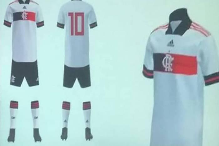 Uniforme número 2 do Flamengo para a temporada de 2020