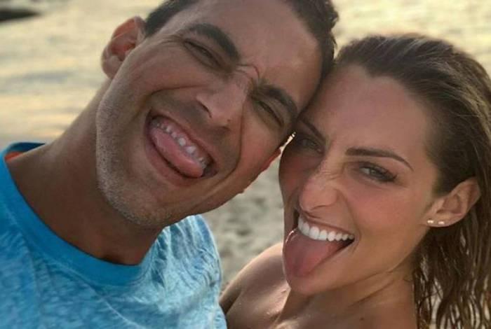 André Marques e Sofia Starling completaram um ano de namoro