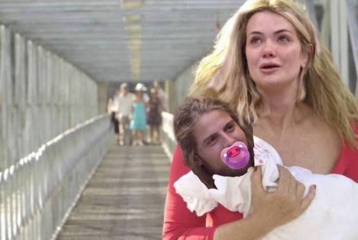 Marcela era namorada, mas acabou sendo chamada de mãe de Daniel