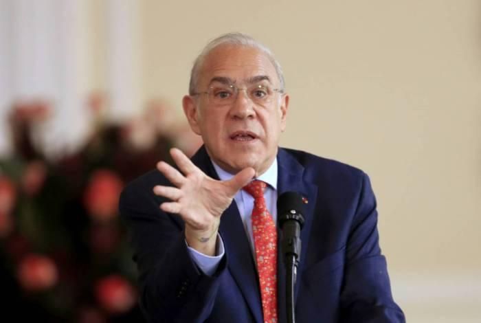 Secretário-geral da OCDE, Angel Gurría.