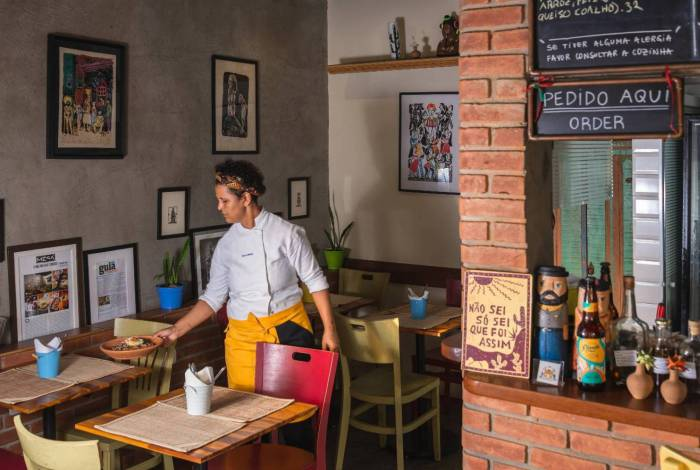 Chef Ieda de Matos, do restaurante Casa de Ieda, em SP
