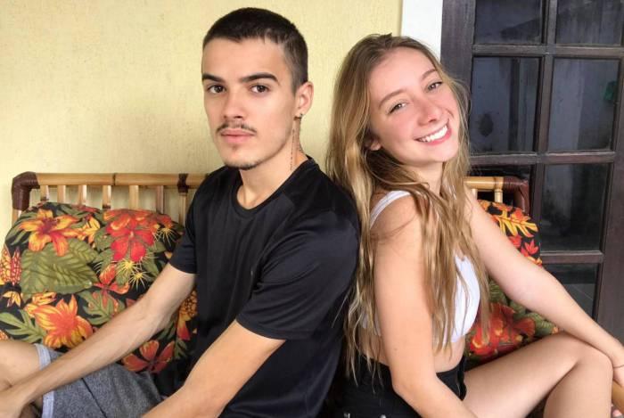 Para o casal Diego e Ana, o confinamento juntinho está 'muito bem, obrigado!'