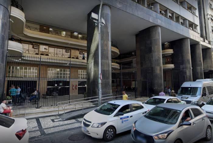 A Superintendência do Ministério da Saúde no Rio de Janeiro, na Rua México, Centro do Rio