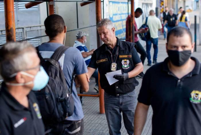 Fiscalização continua em ônibus de Volta Redonda