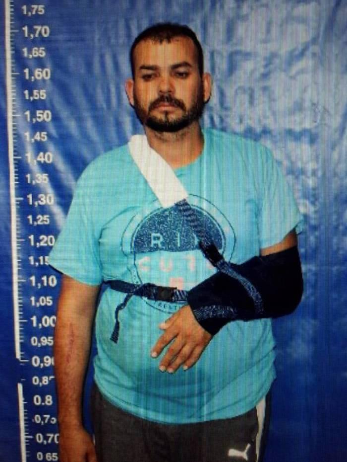 Alex Sandro de Faria, o Da Broz, foi preso em uma fazenda no município de Inhapim (MG)