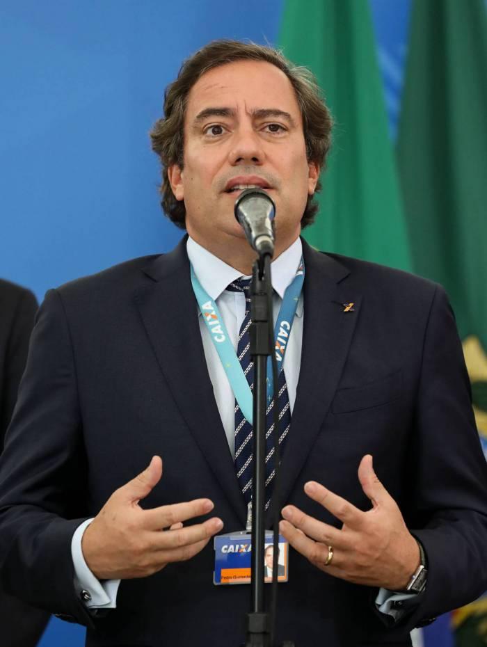 Guimarães disse que não é preciso correria à Caixa neste momento. Quando decreto for publicado, banco detalhará o pagamento do auxílio