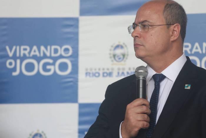 Governador Wilson Witzel no palacio Guanabara, em Laranjeiras, na Zona Sul do Rio de Janeiro