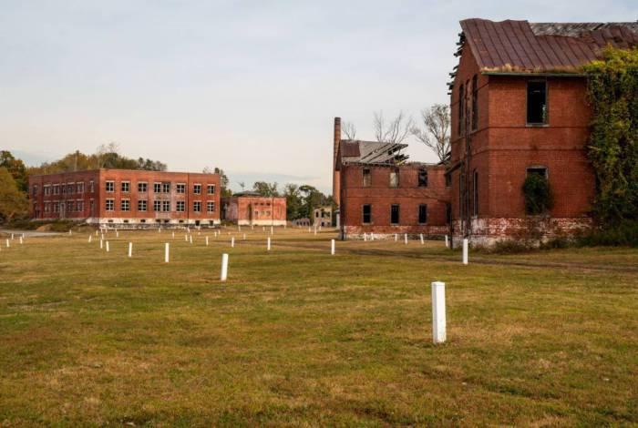 Cemitério de Hart Island, em Nova York