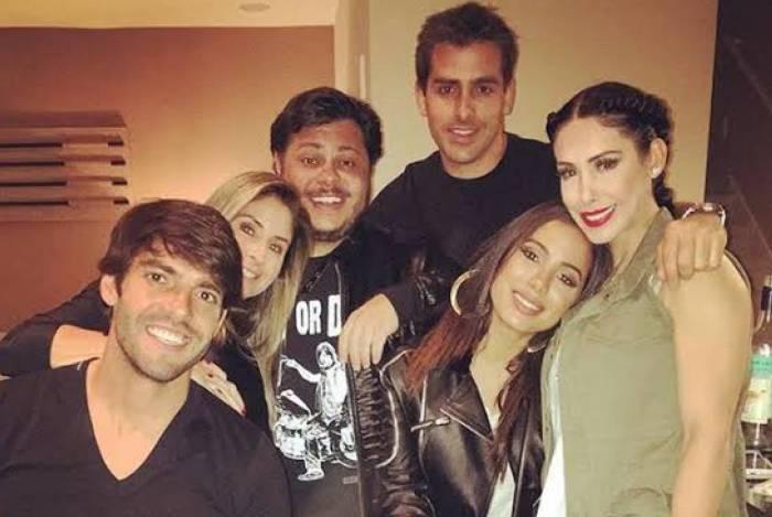 Rodrigo Branco e seus amigos famosos