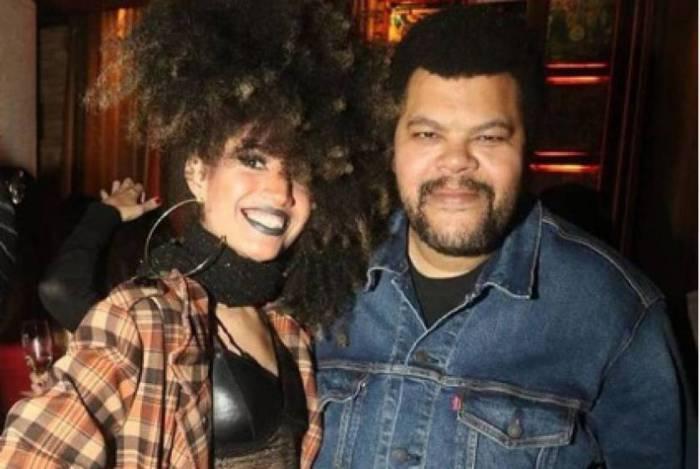 Tatiane Melo e Babu Santana
