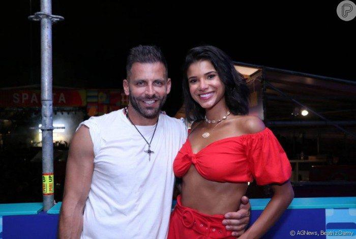 Henri Castelli e Jakelyne Oliveira