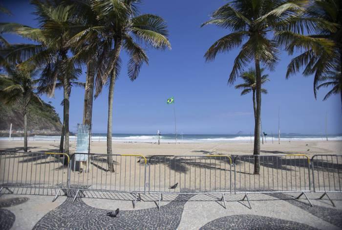 Surfistas desrespeitaram decreto estadual