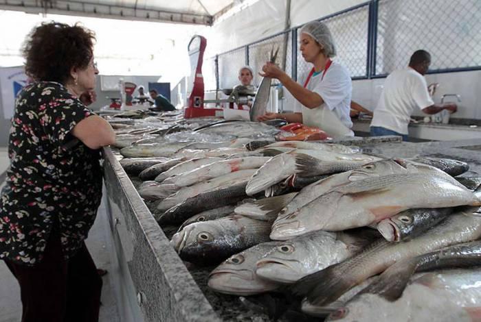 O Mercado de Peixes voltou a ser aberto após publicação do decreto municipal 44/2020