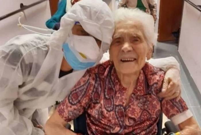 Ada Zanusso é a pessoa mais velha a sobreviver ao novo coronavírus