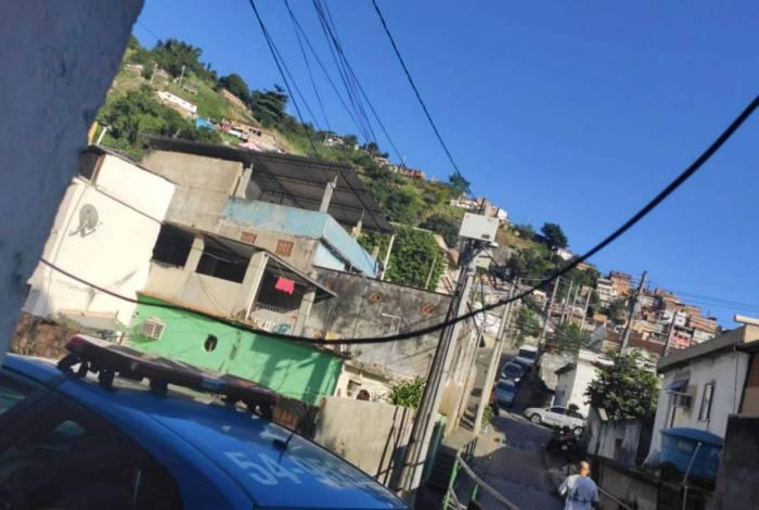 Base da UPP Andaraí foi atacada na manhã desta segunda-feira