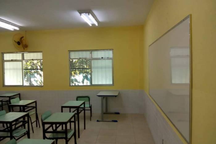 Unidades escolares de Volta Redonda recebem melhorias