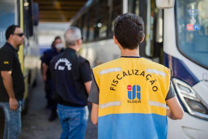 A população pode realizar denúncias de irregularidades no transporte coletivo através do aplicativo Fiscaliza VR