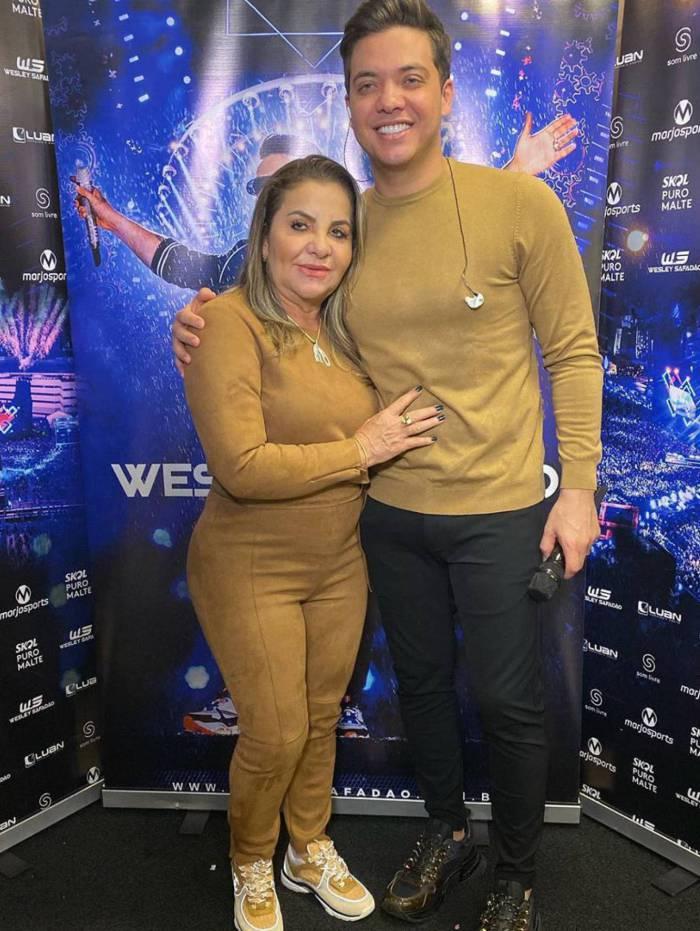 Dona Bill e Wesley Safadão