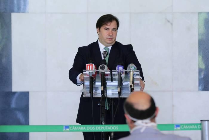 Presidente da Câmara dos Deputados, Rodrigo Maia garantiu que a Casa votará hoje o projeto de lei