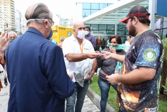 Prefeitura de Niterói espera distribuir 1 milhão de máscaras