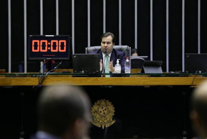 Rodrigo Maia na Câmara dos Deputados