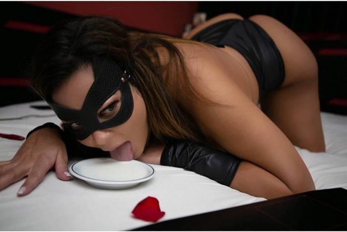 Geisy Arruda se fantasia de gata para divulgar livro de contos eróticos