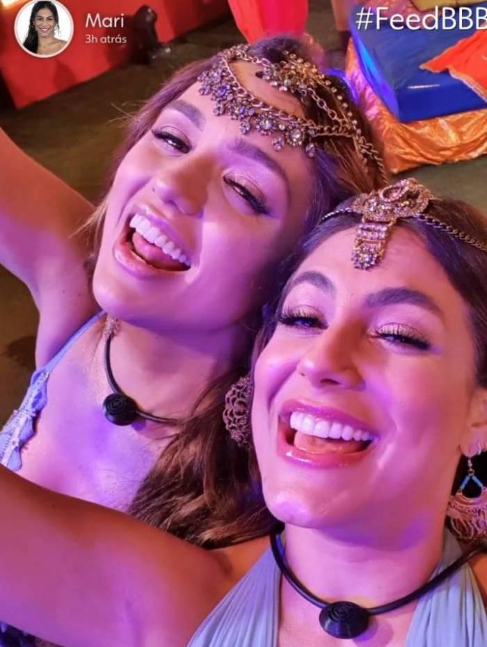 Rafa e Mari na festa de quarta-feira: 'Dako é bom'