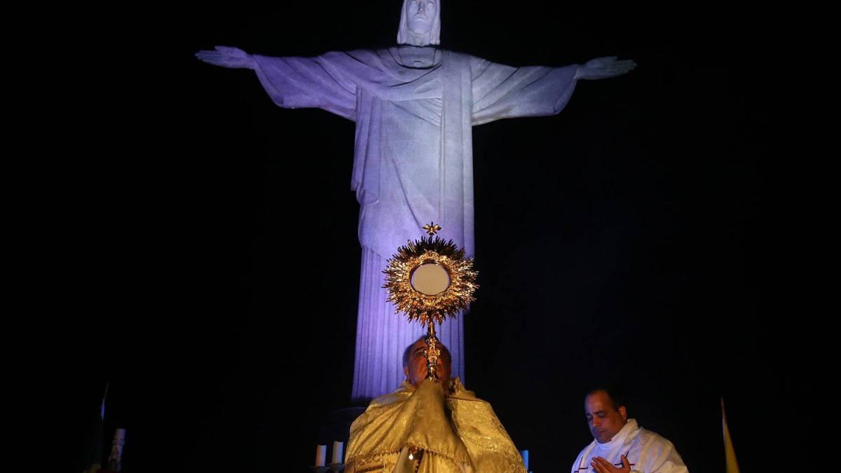 Missa no Cristo Redentor