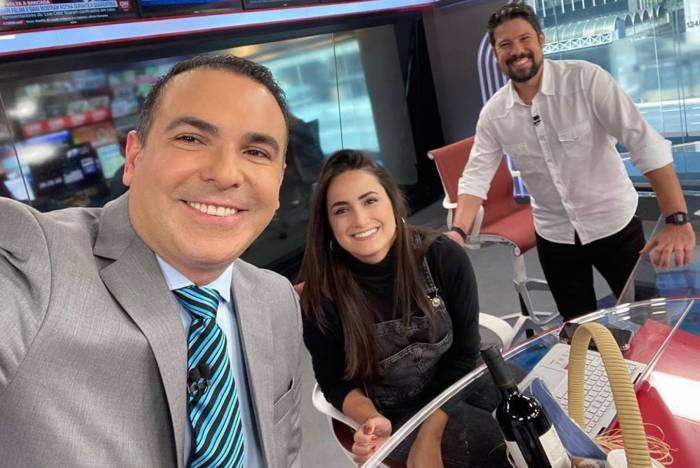 Reinaldo Gottino, Mari Palma e Phelipe Siani estão na CNN