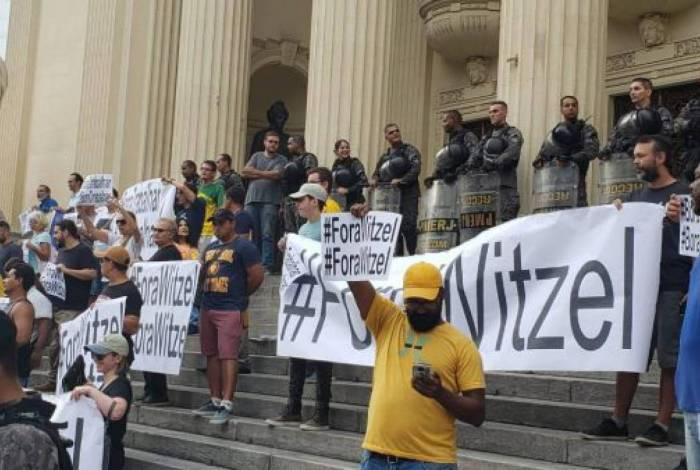 Manifestação contra o isolamento social