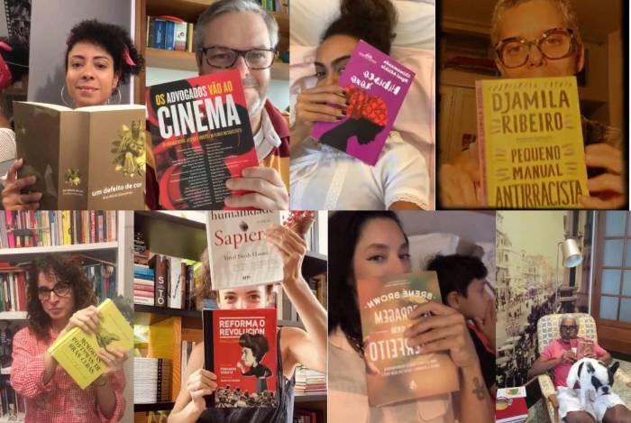 Famosos e seus livros