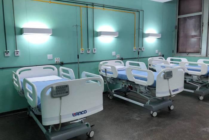 Hospital do Fundão passou por reformas e terá reativados 60 leitos de UTI. Ação foi possível graças a doações