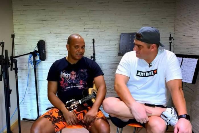 Anderson Leonardo em entrevista ao canal Rica Perrone