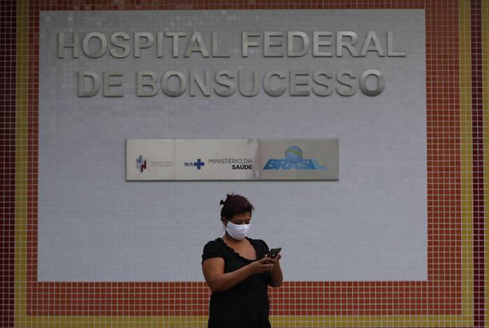 Movimentação no Hospital Geral de Bonsucesso