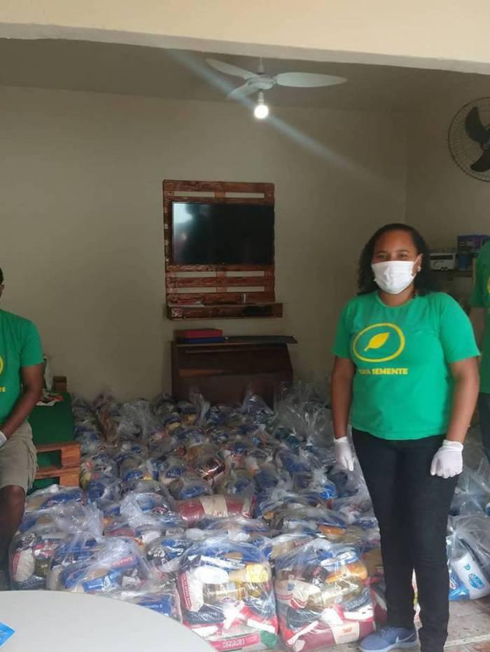 Campanha já doou mais de 1.420 cestas básicas em Duque de Caxias