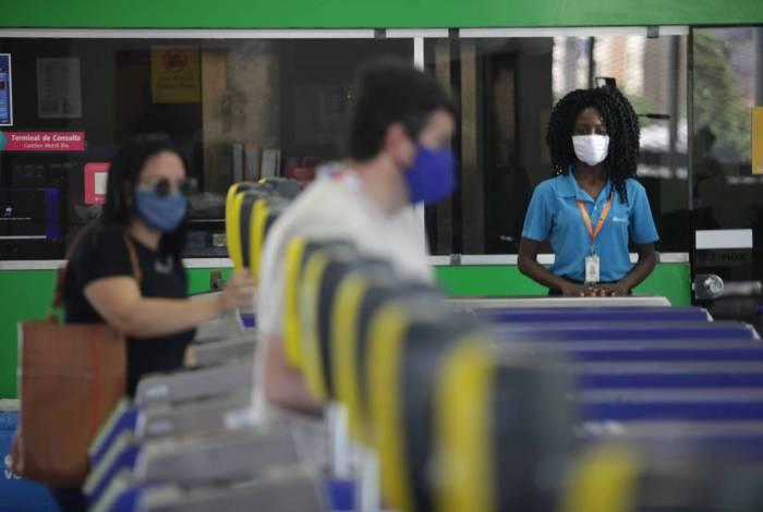 Desde o dia 23 de março, o Metrô Rio já registrou uma queda de 80%, em média, de passageiros transportados diariamente