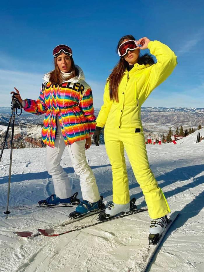 Anitta e Jeni Monteiro em Aspen