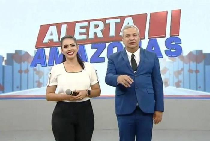 Mayara Rocha e Sikêra Jr.
