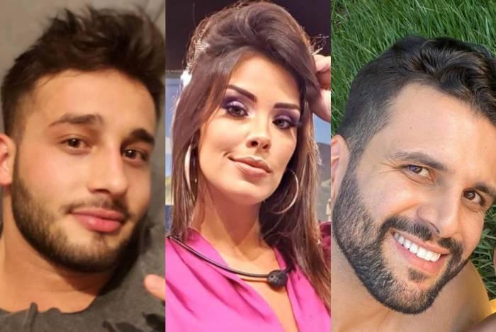 Fernando Borges, Ivy Moraes e Rogério Fernandes