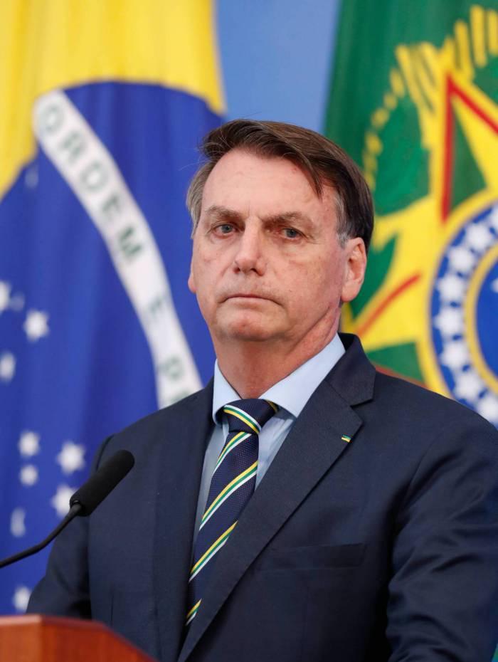 (Brasília - DF, 16/04/2020) Coletiva de Imprensa com o Presidente da República, Jair Bolsonaro..Foto: Alan Santos/PR