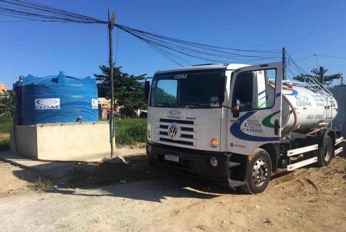 Cedae irá fornecer água para comunidades localizadas em regiões de construções desordenadas
