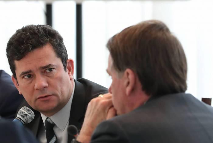 Sergio Moro e Bolsonaro