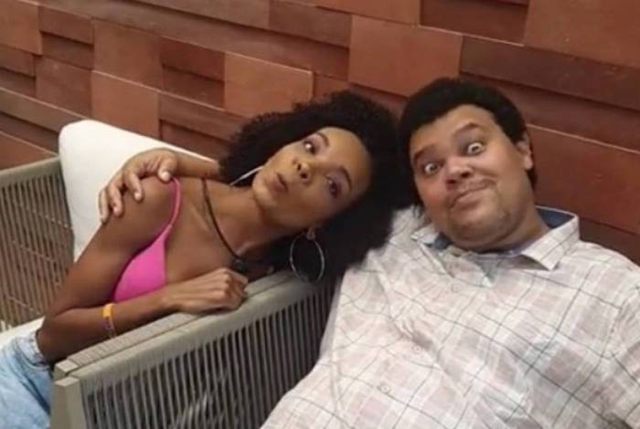 Babu Santana e Thelma