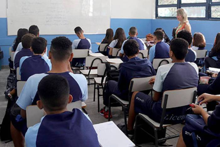 Com 1.500 matriculados, o Liceu atende do 6º ano do ensino fundamental até o 3º ano do ensino médio