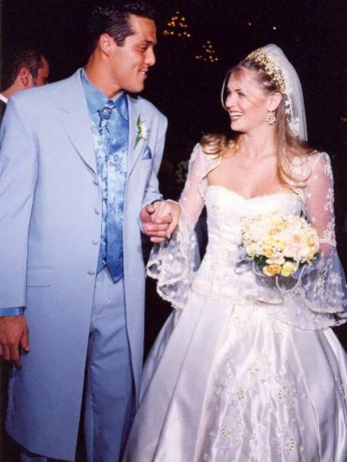 Julio Cesar e Susana Werner completaram 18 anos de casamento