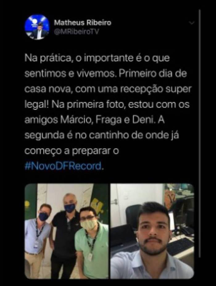 Post de Matheus Ribeiro